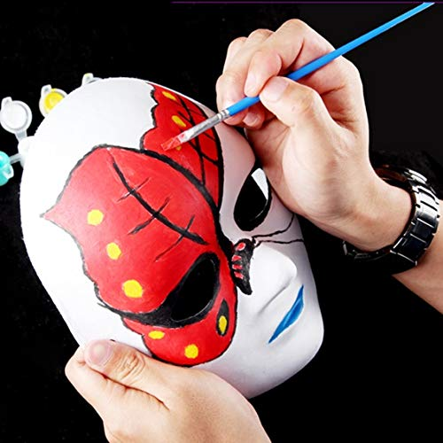 Aspire 288 PCS Blank DIY Masks Craft Paper Halloween Masquerade Face Mask Decorating Party Costume by Aspire (Image #6)