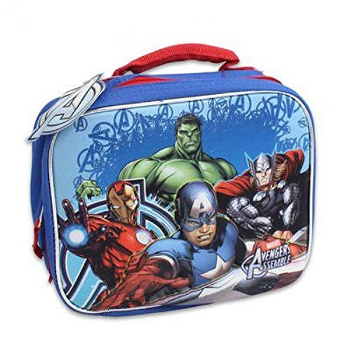 Avengers Molded 3d Pop-up Lunch Bag 9in