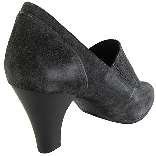 Born Crown Womens Veruca Pumps Scarpe Da Donna Grigio