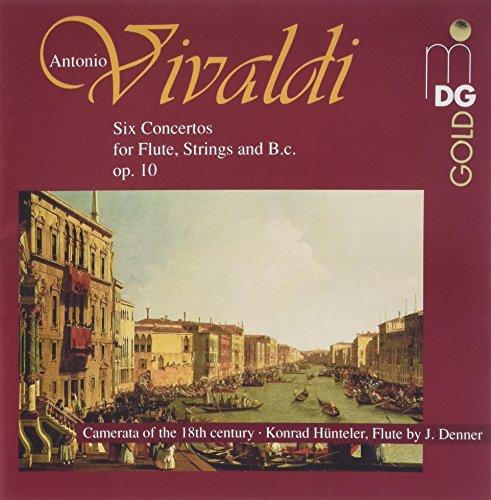 Vivaldi: Flute Concerto in D, Op. 10/3, RV428; Flute Concerto in Gm, Op. 10/2, RV439