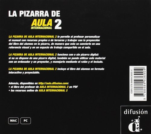 Aula Internacional: LA Pizarra De Aula Internacional 2 (CD ...