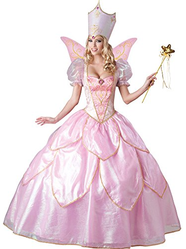 InCharacter Costumes Women's Fairy Godmother Costume, Pink, Large ()