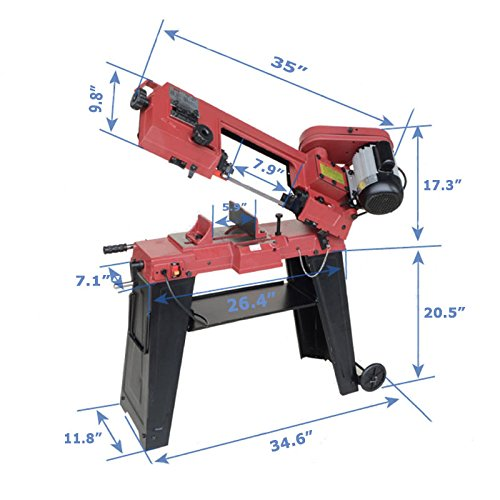 Horizontal/Vertical Band saw Metalworking Manufacturing Industrial by Industrial Scientific