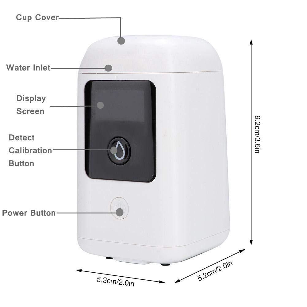 TDS-Tester kann f/ür Trinkwassertests verwendet werden tragbarer Mini-Multifunktions-Wasserqualit/ätsanalysator TOC COD TDS-3-in-1-Messger/ät