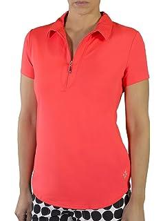 cdb835ba562ac0 Amazon.com   Jofit Performance Sleeveless Polo - White   Golf Shirts ...