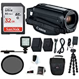 Canon VIXIA HF R800 Camcorder (Black) with 32GB Supreme Bundle