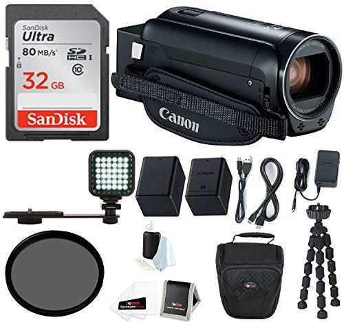 Canon VIXIA HF R800 Camcorder  with 32GB SD Card, Spare Batt