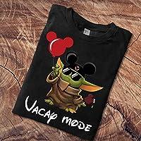 Vacay Mode Baby Yoda Disney The Mandalorian With Death Star Wars Movie Vacay Mode Lovely Mickey T-Shirt Short-Sleeve T-Shirt Long-Sleeve Sweatshirt Hoodie Sweater Gifts