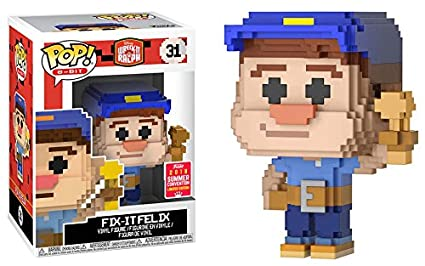 8-bit # 31 Wreck it Ralph Fix it Felix (Exclusiva
