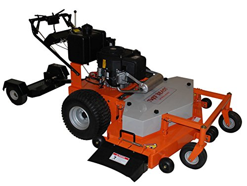 Turf Beast 54FB 54'' .22 HP Subaru Commercial Duty Dual Hydro Walk Behind Finish Cut Turf Mower with Floating Deck by Turf Beast