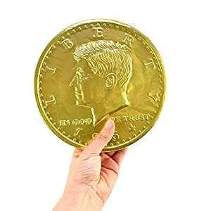 Giant Chocolate Coin 16 oz