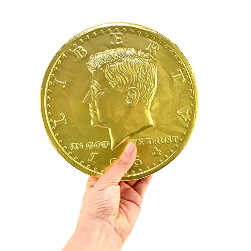(Giant Chocolate Coin 16 oz)