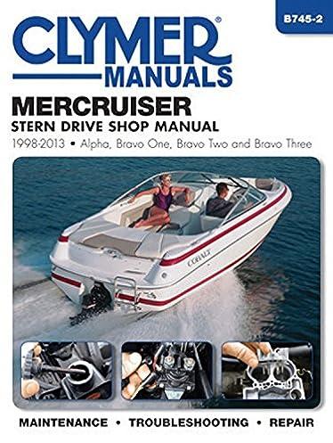 mercruiser stern drive shop manual 1998 2013 alpha bravo one rh amazon com Bravo II Propellers Bravo 1 Prop