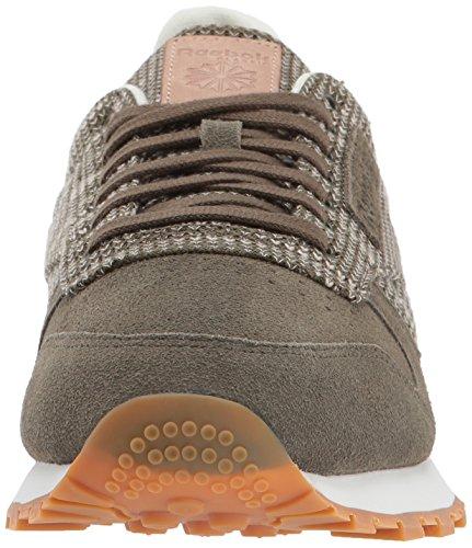 Reebok Heren Cl Leer Ebk Sneaker Legergroen / Krijt / Zand Sto