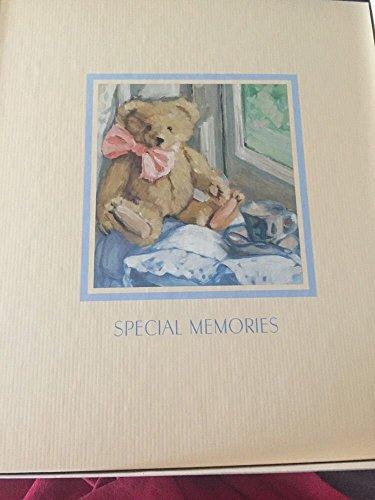 [해외]홀 마크 특별 한 추억 테 디 베어 스크랩북 & amp;#10a 사진 앨범 / Hallmark Special Memories Teddy Bear Scrapbook & Photo Album