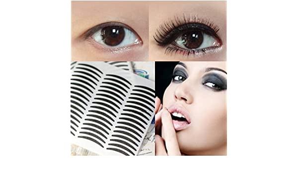 Amazoncom 14 Pairs Simple Black Eyeliner Stickers Only
