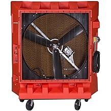 Portacool PAC2K48HZ Hazardous Location Portable Evaporative Cooler, 48-Inch, 17000 CFM, 4000 Square Foot Cooling Capacity, Orange