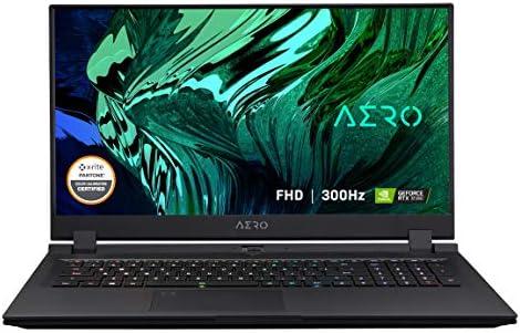 "GIGABYTE AERO 17 KC - 17.3"" 300Hz FHD IPS - Intel Core i7-10870H - NVIDIA GeForce RTX 3060 6GB GDDR6 - 16GB RAM - 1TB SSD - Windows 10 Home - Creator & Gaming Laptop(AERO 17 KC-8US6150SH)"