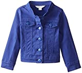 Pumpkin Patch Little Girls' Denim Jacket, Deep Violet, 3T