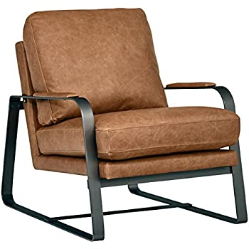 Amazon Com Rivet Stewart Modern Industrial Recliner With