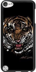 Funda para Ipod Touch 5 - Cara Del Tigre (diseño De La Firma) by Adamzworld