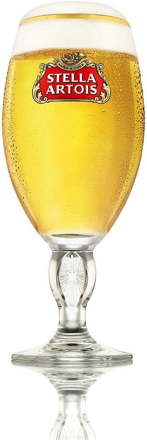 Stella Artois - Vaso de cáliz (330 ml, 1 vaso de 330 ml)