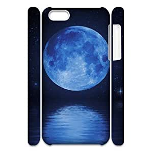 linJUN FENGMoon 3D-Printed ZLB600573 Custom 3D Phone Case for iphone 4/4s