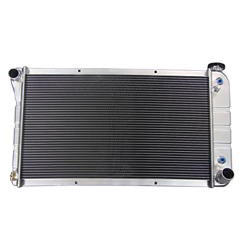 Primecooling 52MM 3 Row Core Aluminum Radiator for 1967-1972 Chevy/GMC C/K 10 20 30 Jimmy Pickup Truck
