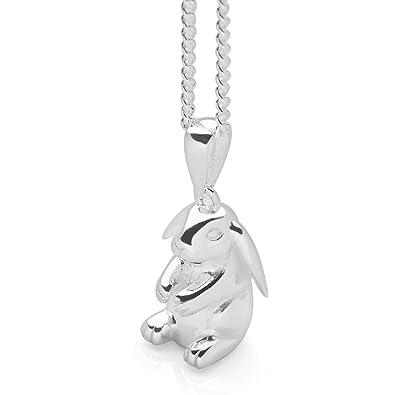 Lop eared bunny pendant 40 amazon jewellery lop eared bunny pendant 40 aloadofball Choice Image