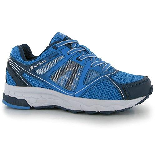 Karrimor - Zapatillas de running de Material Sintético para niño Navy/Blue/White