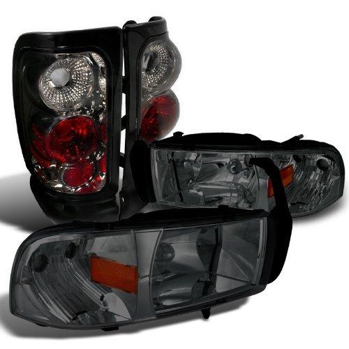 99 dodge ram 1500 head lights - 6