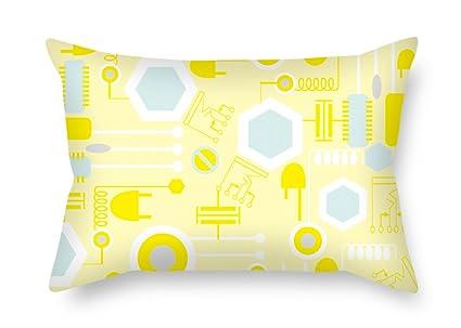 Amazoncom Artistdecor Colorful Geometry Valentine Day Pillow