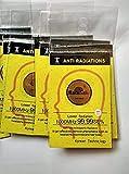 (3pack) Anti Radiation Sticker - RadiSafe 24K Gold