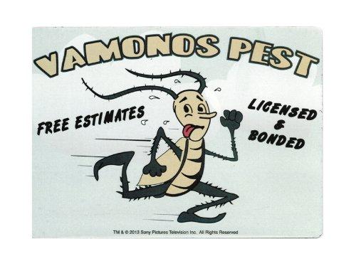 Breaking Bad Vamonos Pest Car Magnet Animewild