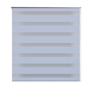 vidaXL Store enrouleur tamisant 60 x 120 cm blanc: Amazon.fr ...
