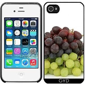 Funda para Iphone 4/4S - Uvas Fruta Hambriento by WonderfulDreamPicture