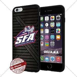 "NCAA-Stephen F. Austin Lumberjacks,Cool iPhone 6 Plus (6+ , 5.5"") Smartphone Case Cover Collector iphone TPU Rubber Case Black"