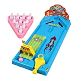 Itemship- Home Bowling Alleys Golf Children multicolor cartoon Bowling Three in one set