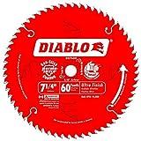 Diablo D0760A 7-1/4'' 60T Diablo Ultra Finish Work Circular Saw Blade