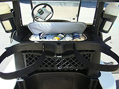 The Perfect Fit Golf Cart Cooler Bag Caddy - Easily Sneak Beer Into The Golf Course - Great Gift Idea For Any Golfer