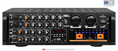 New Better Music Builder DX-333 G2 700W Professional KARAOKE Mixing Amplifier AMP by Better Music Builder