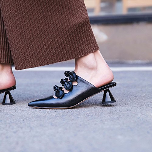 Comfort Carrera para de Chanclas Zapatos y a de Oficina Zapatos y Transpirables Mujer de Zapatos Noche XUE Zapatos la y Summer Carrera Vestido Fiesta ahuecados Moda Caminar Sandalias y Un Pantuflas PU 4AwXzqvW7