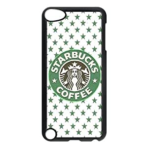 Design Cases Ipod Touch 5 Cell Phone Case Black Starbucks Sdfha Printed Cover