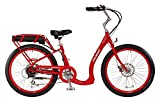 Pedego Boomerang Red with Black Balloon Package 36V 10Ah