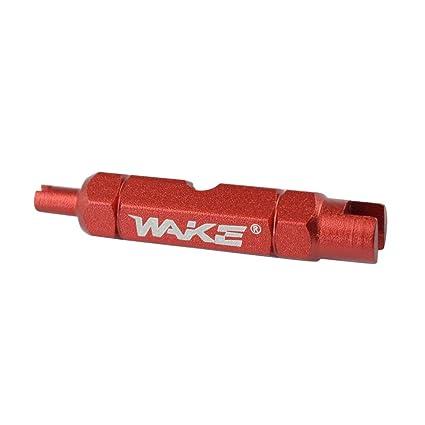Formulaone Wake Válvula de Llave de Bicicleta de Doble Cabezal Herramienta de desmontaje de núcleo Herramienta