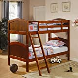 Coaster 460203 Bunks Twin Over Twin Bunk Bed by