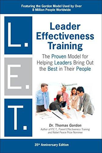 Leader Effectiveness Training: L.E.T. (Revised):