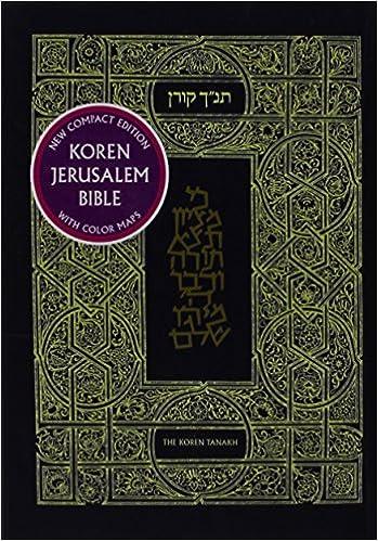 Hyvät äänikirjat ilmaiseksi ladattavissa Koren Jerusalem Tanakh (Hebrew Edition) 9653017233 PDF
