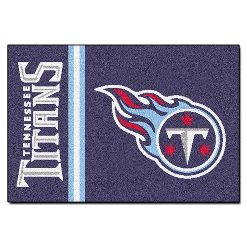 FANMATS NFL Tennessee Titans Nylon Face Starter Rug