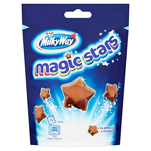 (Original Milky Way Magic Stars Chocolate Candy Bag Imported From The UK England The Best Of British Candy)